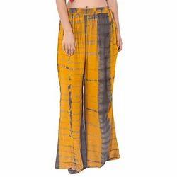 Ladies Free Size Tie Dye Palazzo