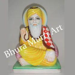 White Marble Gurunanak Ji Statue