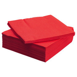 Red Paper Dinner Napkin