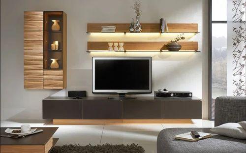 Etonnant LED Wooden TV Units