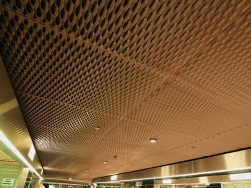 Expanded Metal Mesh False Ceiling Burley Tec Private Limited