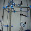 Glass Distillation Column