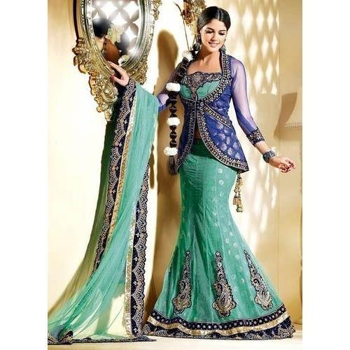 87e8f5fe0f8212 Ladies Fish Cut Lehenga, Lehenga Choli, Party Wear Lehenga ...
