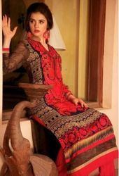 Red Pakistani Suits