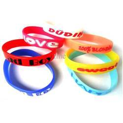 Printed Silicone Band