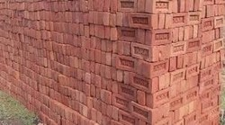 Red Brick in Ajmer, लाल ईंट, अजमेर, Rajasthan
