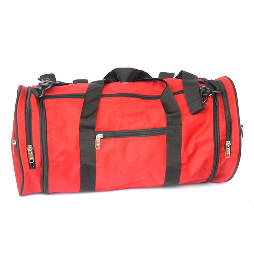 a61856c22254 Polyester Red And Black Designing Travel Bag