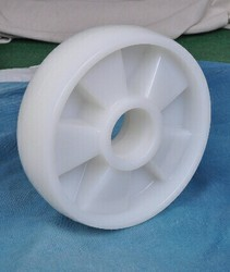 Nylon Pallet Trolley Wheel 180x50