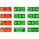 Glow Exit Signs