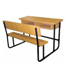 Wood Student Chair & Table, Size: 42 x 12 x 30 inches