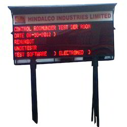 LED Information Display Board