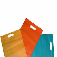 U Cut Color Non Woven Bag