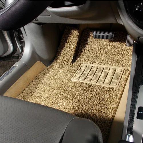 Autofurnish Anti Skid Curly Car Foot Mats (beige) At Rs