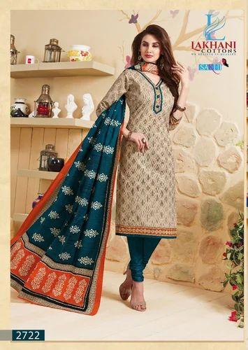 0fbf04c6b0 Regular Wear Fastest 100 % Cotton Dress Material, Rs 290 /piece | ID ...