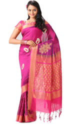 Normal Wear Printed Silk Saree, 6.3 m (with blouse piece)