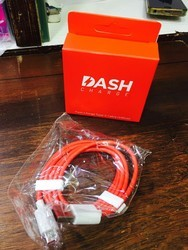 Red Dash Charging Data Cables