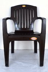 Modern Brown Croma Chair, Back Style: High Back