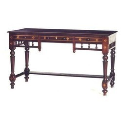 Rosewood Inlaid Writing Table