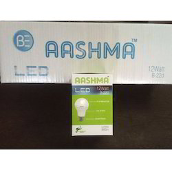 12w Aashma Brand LED Bulb Packing With Outer Box