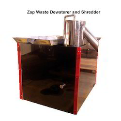 Zap Waste Dewaterer and Shredder