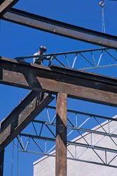 Steel Building Construction Work