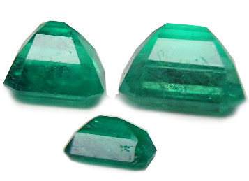 Synthetic Gemstone - Synthetic Multi Tourmaline Cut Gems