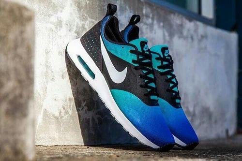 Boys Canvas Nike Blue Shoes, Size: 6