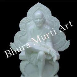 White Marble Shri Sai Baba Statue