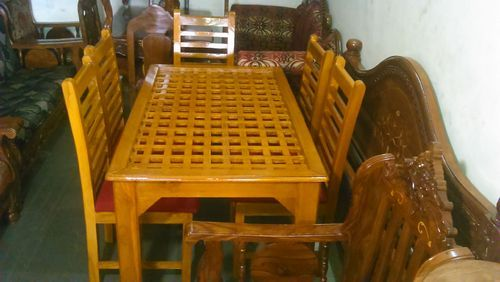 Teak Wood Dining Table New Designer Model Low Price At Rs 28000 No