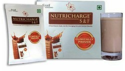 Meal Replacement Unisex Nutricharge S&F Clinically Proven, 15 Pouches