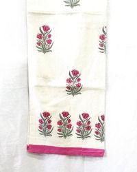 Jaipuri Block Print Double Bed Sheet