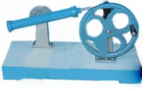 Crank Drive to Oscillating Link Mechanism Model in Preet Nagar