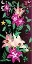 Digital Flower Design Laminated Board  For Wardrobes