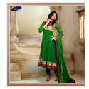 Georgette Ladies Suit, Size: L