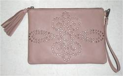 Leather Wrist Bag/ Pouch