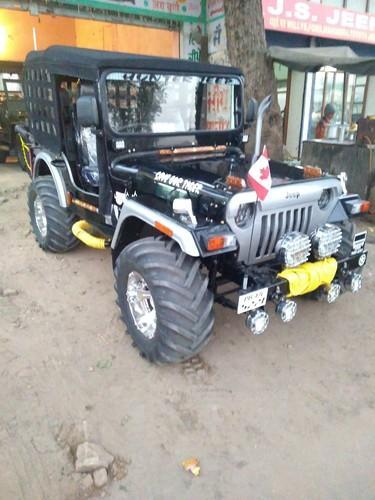 Black Modified Jeep In Hunter Look Rs 355000 Number Sonu Verma