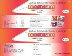Diclofenac Linseed Methyl Salicylate Menthol (Decloneb Gel)