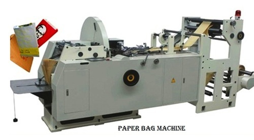 Paper Bags Machine With Printing Color