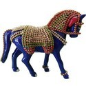 MT021 Meenakari Work Horse Walking