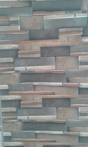 Johnson Front Elevation Tiles : Outdoor wall tiles kajaria