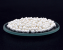 Spherical White Szs Zirconium Silicate Beads, Size: 0.3 To 15 Mm. Available