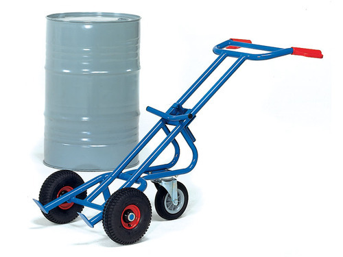 Drum Trolley - Four Wheel Drum Trolley Manufacturer from Mumbai