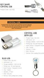 Crystal USB Pen Drives