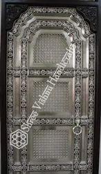 Standard White Metal Door