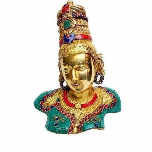 Brass Sculpture, for Interior Decor