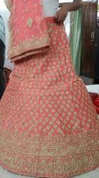 Radish Red Lehenga Choli For Woman