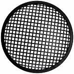 Black Metal Unique Pro Single 12 inch Speaker Grill in Plastic and Iron