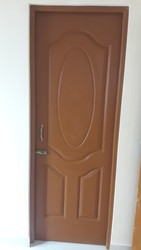 Fiber Door With Fiber Frame