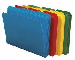Colored File Folder