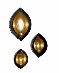 Dual Diya Set Of 3 Pcs